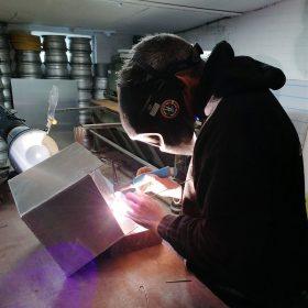 Speciaal op maat gemaakte aluminium onderdelen